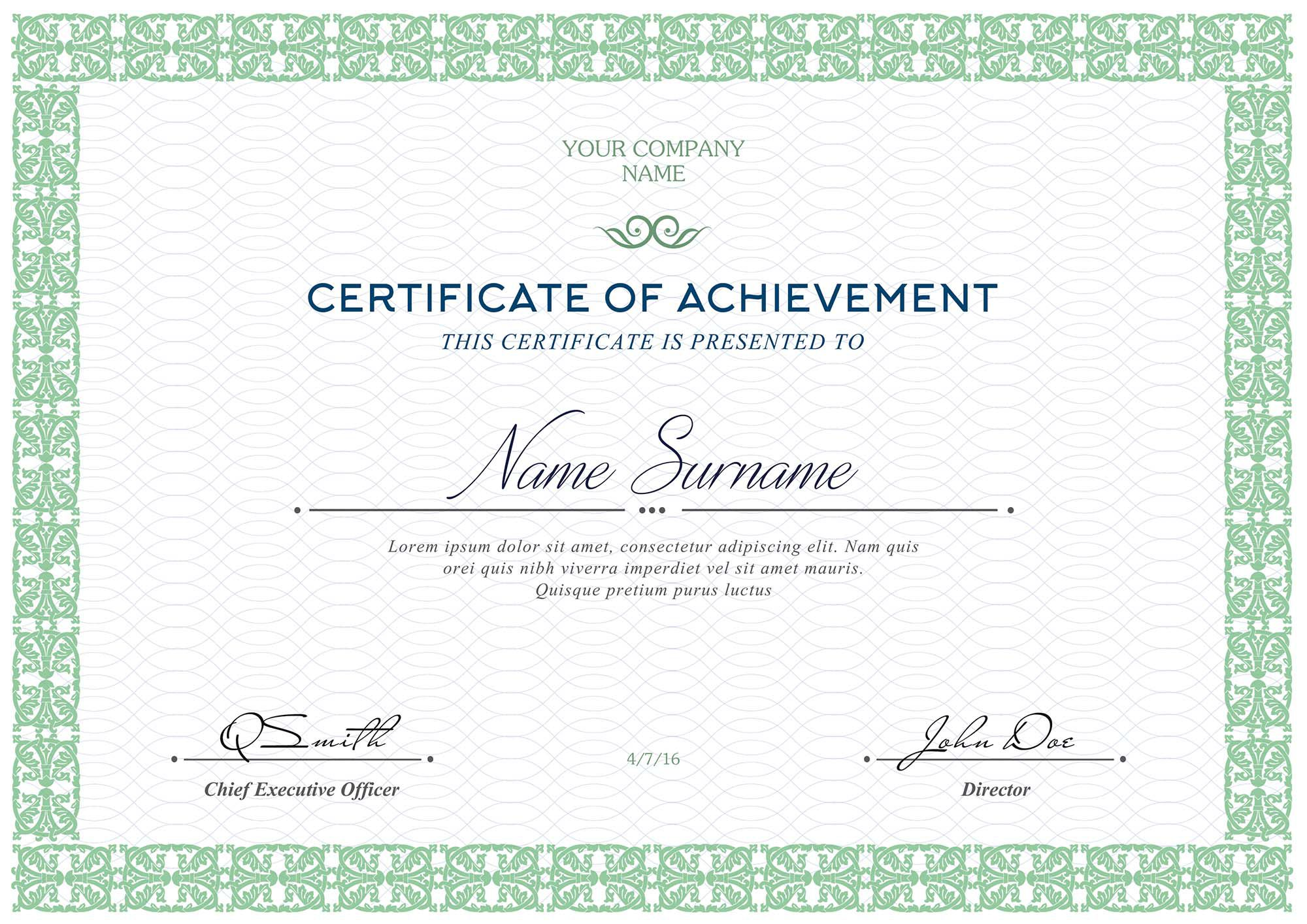 006 Fascinating Free Printable Certificate Template Highest Quality  Templates Blank Downloadable ParticipationFull
