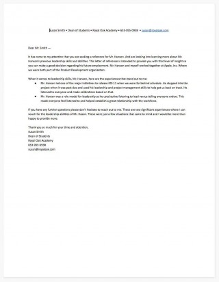 006 Fascinating Free Reference Letter Template For Tenant Picture 320