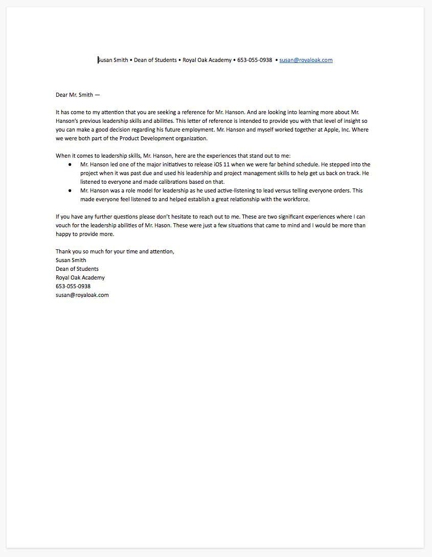 006 Fascinating Free Reference Letter Template For Tenant Picture Full
