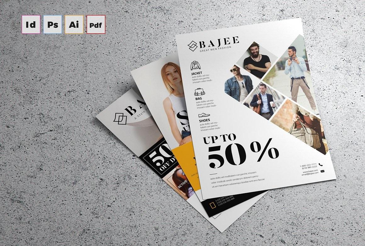 006 Fascinating In Design Flyer Template Inspiration  Indesign Free Adobe DownloadFull