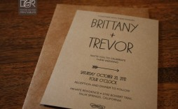 006 Fascinating Rustic Wedding Invitation Template Example  Templates Free For Word Maker Photoshop