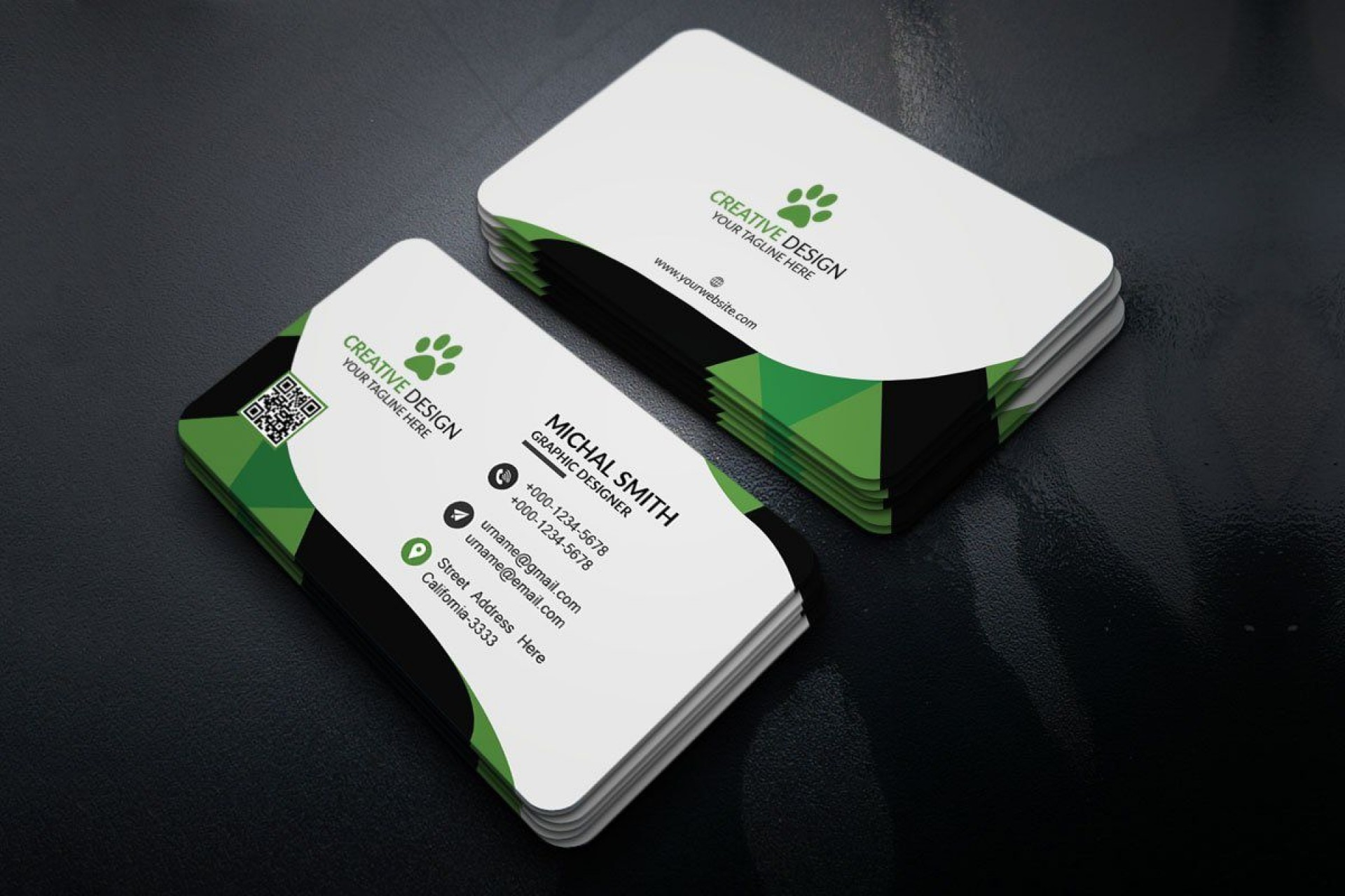 006 Fascinating Simple Visiting Card Design Psd File Free Download Highest Clarity 1920