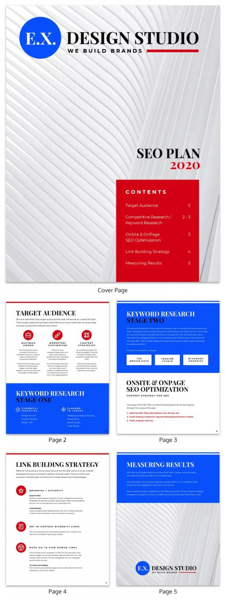 006 Fascinating Social Media Marketing Plan Template 2018 High Definition