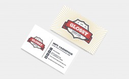 006 Fascinating Staple Busines Card Template Psd Photo