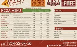 006 Fascinating Take Out Menu Template Idea  Tri Fold Free Word Restaurant Away