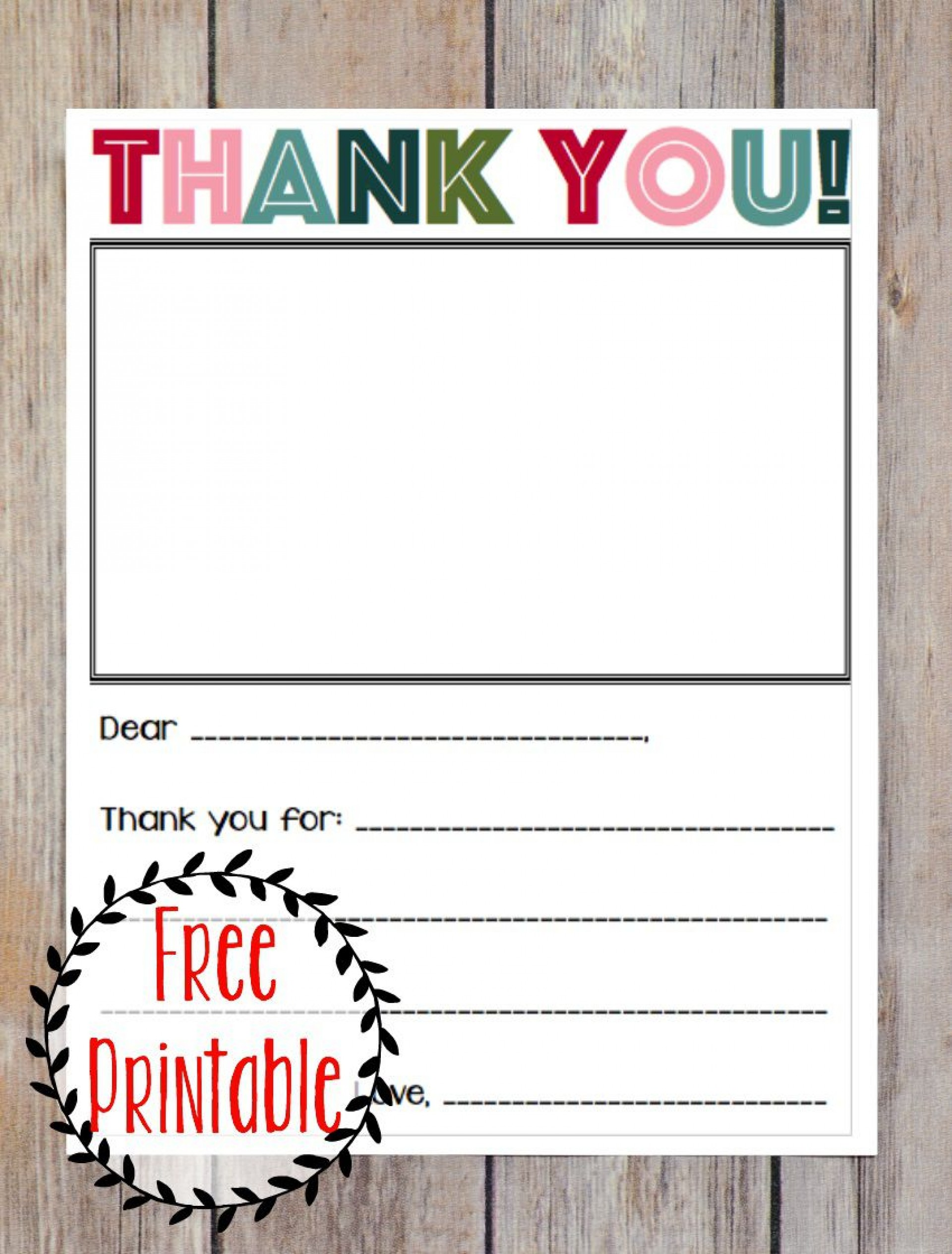 006 Fascinating Thank You Note Template Free Picture  Poshmark Teacher1920