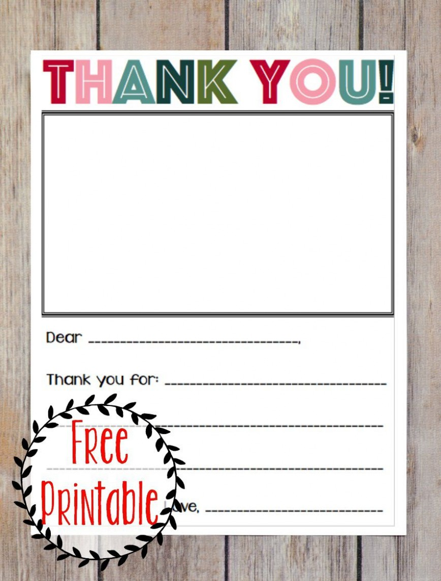 006 Fascinating Thank You Note Template Free Picture  Ebay Teacher