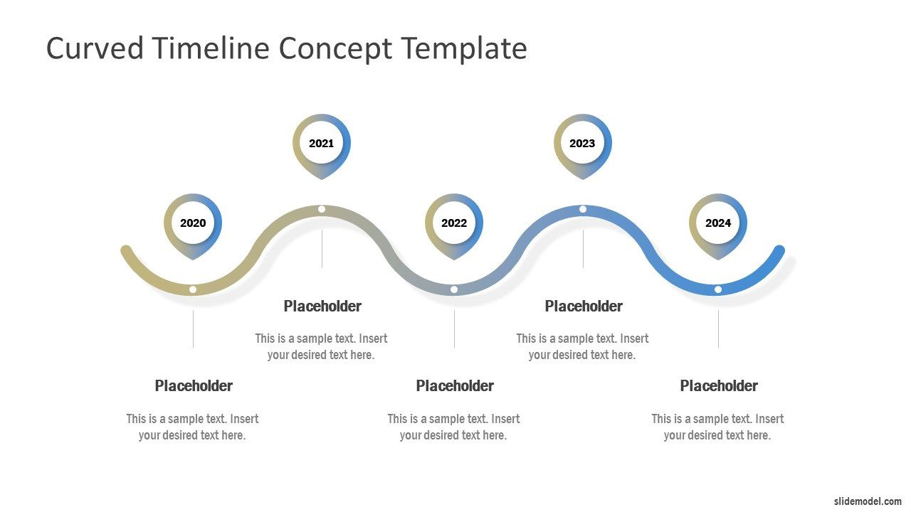 006 Fascinating Timeline Sample For Ppt  Powerpoint Template 2010 ExampleFull