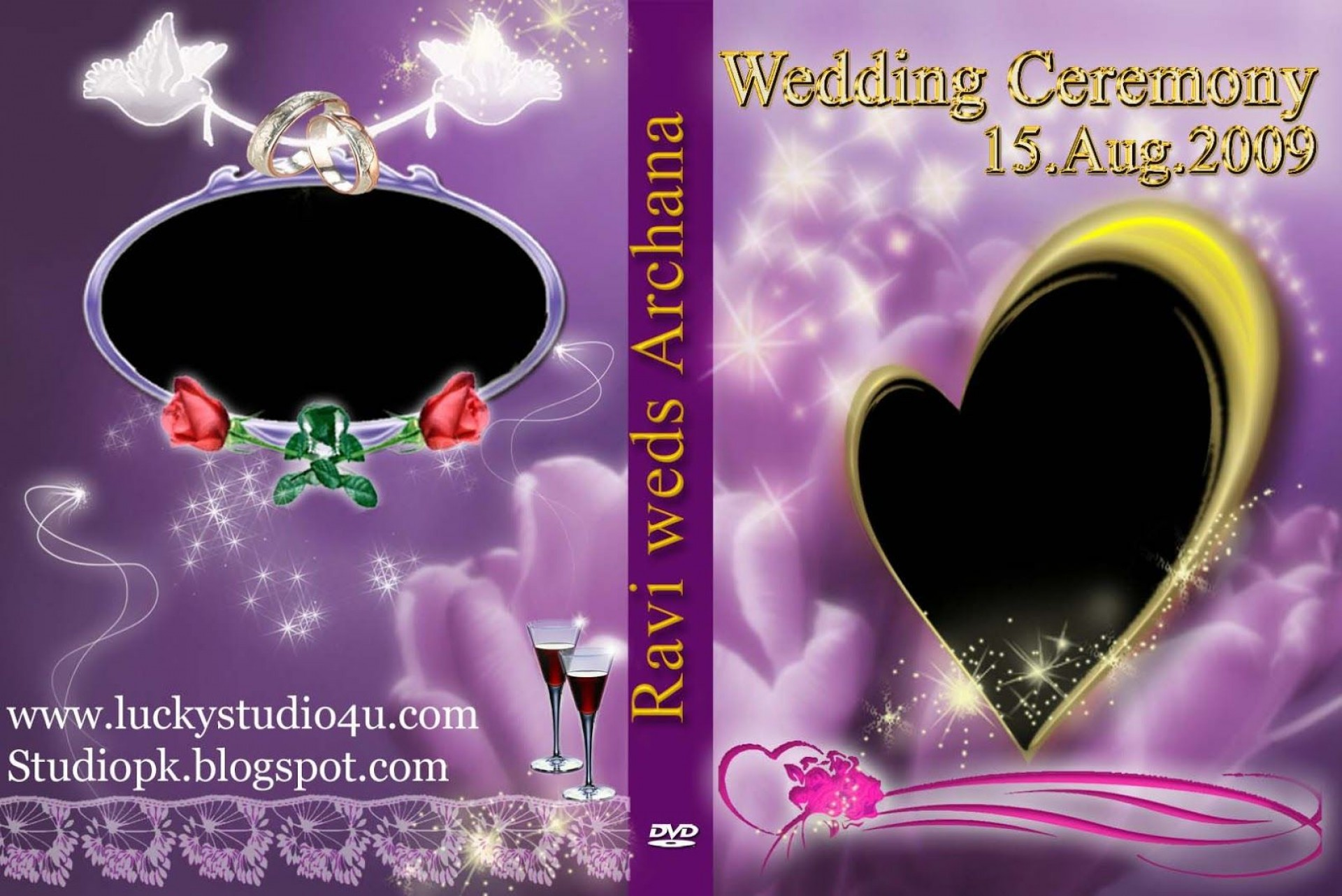 006 Fascinating Wedding Cd Cover Design Template Free Download Picture 1920