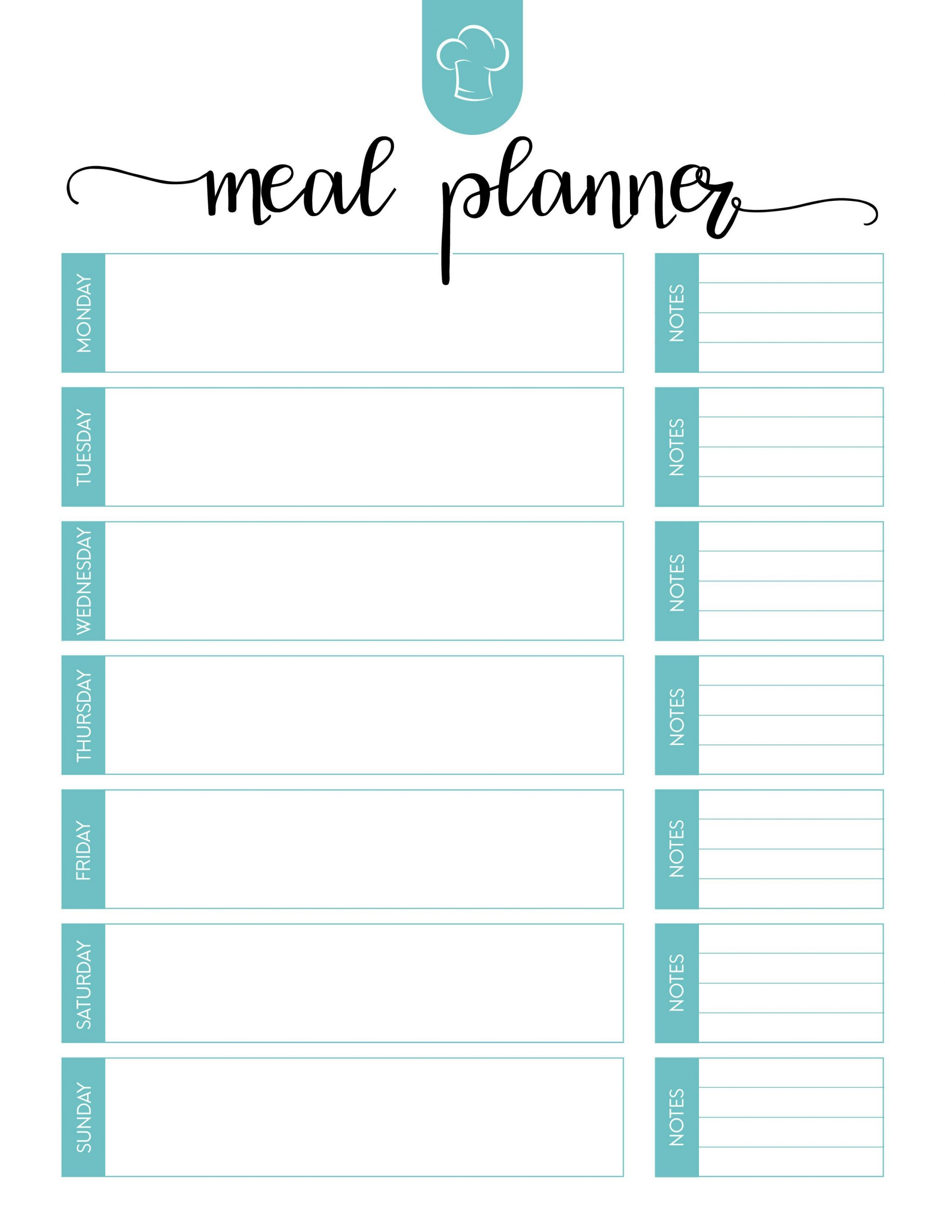 006 Fearsome 2 Week Meal Plan Printable Inspiration 1920