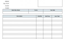 006 Fearsome Blank Invoice Template Excel Highest Quality  Free Download Receipt