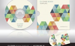 006 Fearsome Cd Cover Design Template  Free Vector Illustration Word Psd Download