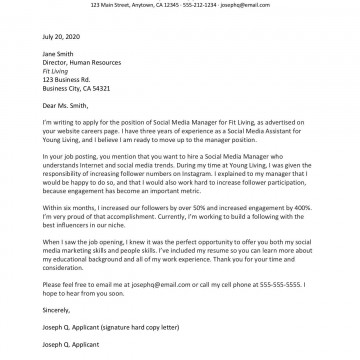 006 Fearsome Cover Letter Writing Sample High Resolution  Example For Content Job Resume360