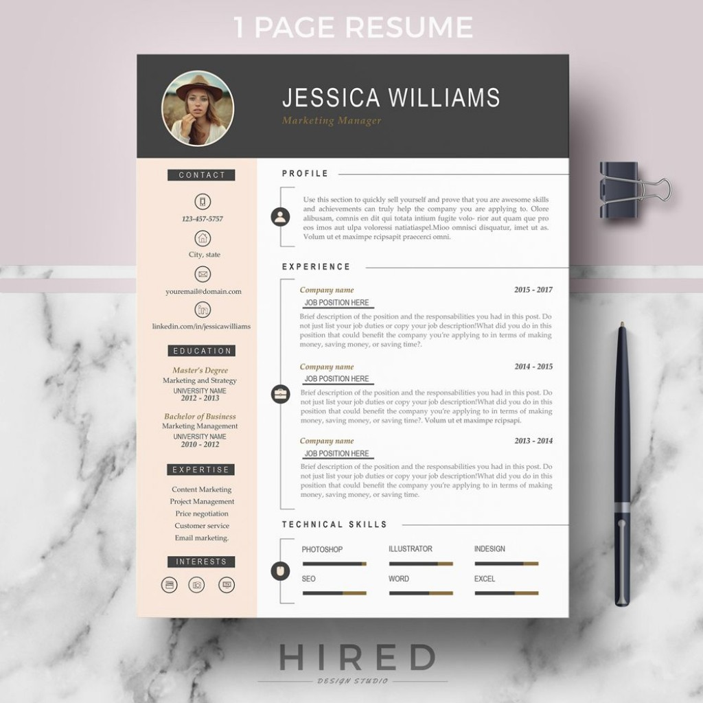 006 Fearsome Curriculum Vitae Word Template Photo  Templates Download M 2019 Cv FreeLarge