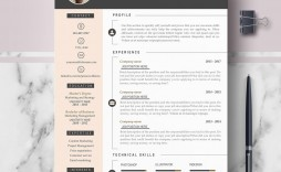 006 Fearsome Curriculum Vitae Word Template Photo  Templates Download M 2019 Cv Free