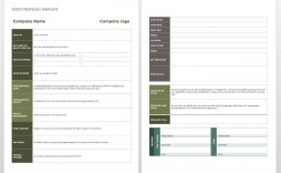 006 Fearsome Free Event Planner Template Word High Def  Checklist