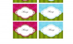 006 Fearsome Free Gift Tag Template Picture  Templates Downloadable Christma Printable For Word To Print