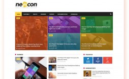 006 Fearsome Free Responsive Blogger Template One Column Concept