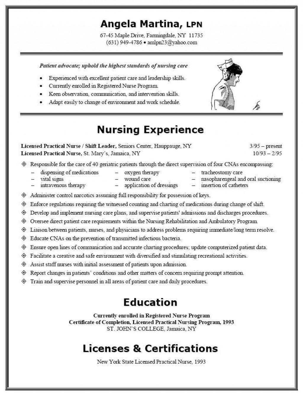 006 Fearsome Free Student Nurse Resume Template Sample  TemplatesLarge