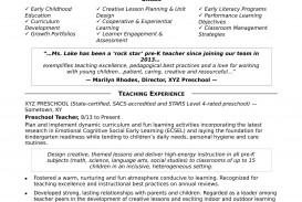 006 Fearsome Good Resume For Teaching Job High Resolution  Sample Teacher Fresher In India