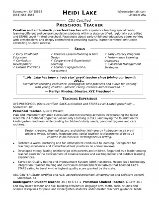 006 Fearsome Good Resume For Teaching Job High Resolution  Sample Teacher Fresher In India320