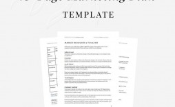 006 Fearsome Marketing Plan Format For Small Busines Image  Business Template Free