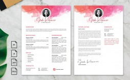 006 Fearsome Photoshop Resume Template Free Psd High Definition