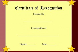 006 Fearsome Recognition Certificate Template Free Picture  Employee Award Of Download Word