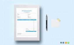 006 Fearsome Self Employed Invoice Template Excel Concept  Uk