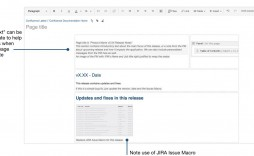 006 Fearsome Software Release Note Template Highest Quality  Free Download Sample Microsoft Word