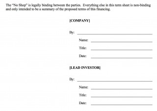 006 Fearsome Term Sheet Template Word Sample  Simple Loan Microsoft320
