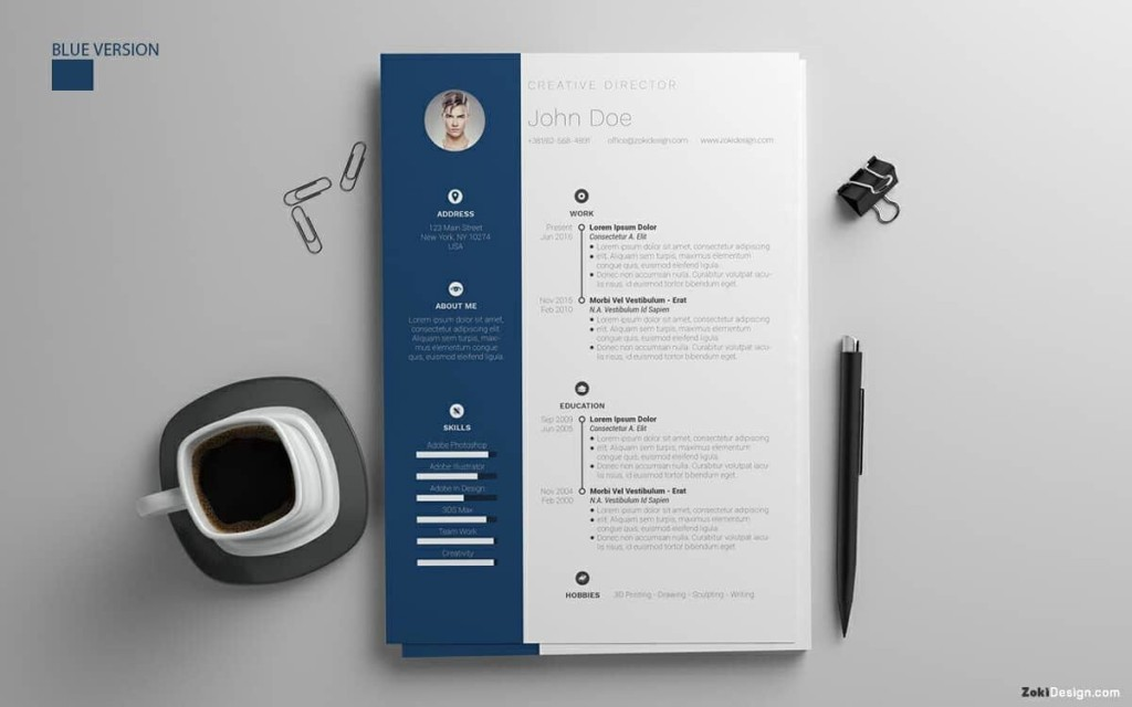 006 Formidable Creative Resume Template Word High Resolution  Professional Free Download Example EditableLarge