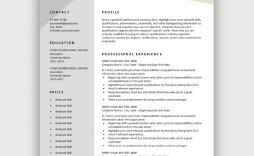 006 Formidable Download Free Resume Template Photo  Word Professional 2019 2020