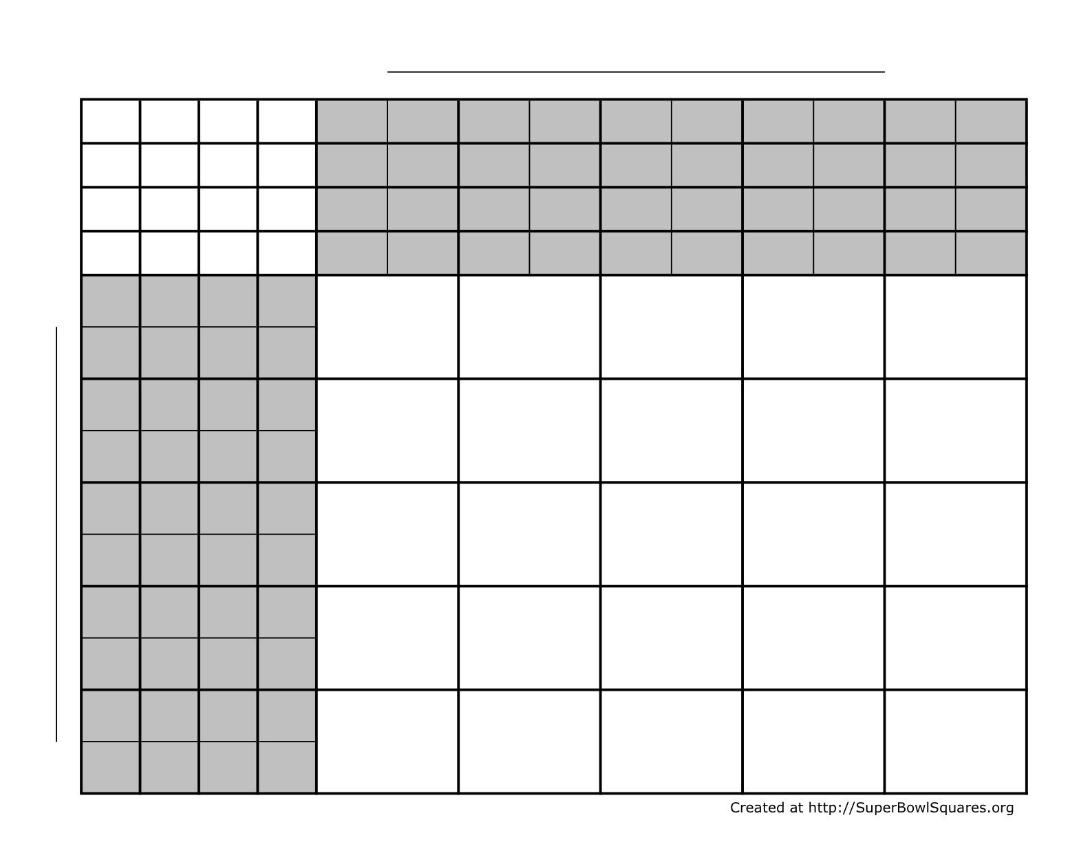 006 Formidable Football Square Template Excel High Def  Printable PoolFull