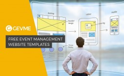 006 Formidable Free Event Planner Website Template Design  Templates Planning Download Bootstrap