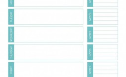 006 Formidable Free Meal Planner Template Word Highest Quality  Editable Weekly Monthly