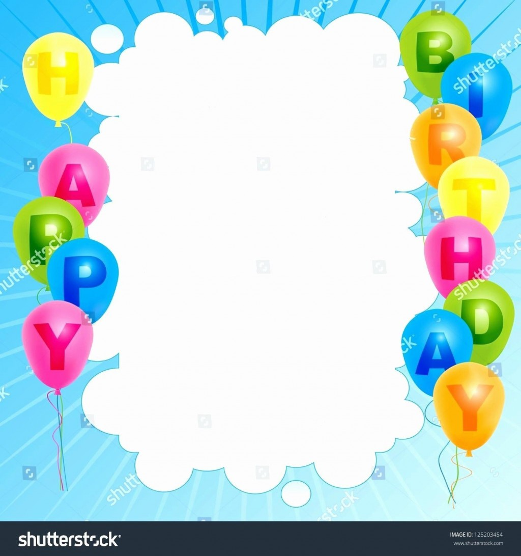 006 Formidable Happy Birthday Card Template For Word High Definition Large