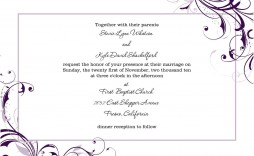 006 Formidable Invitation Template For Word High Resolution  Birthday Wedding Free Indian
