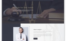 006 Formidable Law Firm Website Template Free Design  Wordpres
