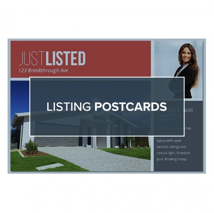006 Formidable Real Estate Postcard Template Photo  Agent For Photoshop Investor728