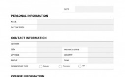 006 Formidable Registration Form Template Word Image  Conference Free