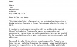 006 Formidable Sample Resignation Letter Template Email Photo