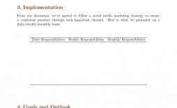 006 Formidable Social Media Marketing Proposal Template Highest Clarity  Plan Free Download Pdf Word