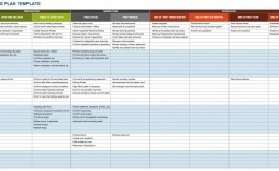 006 Frightening Action Plan Template Excel High Definition