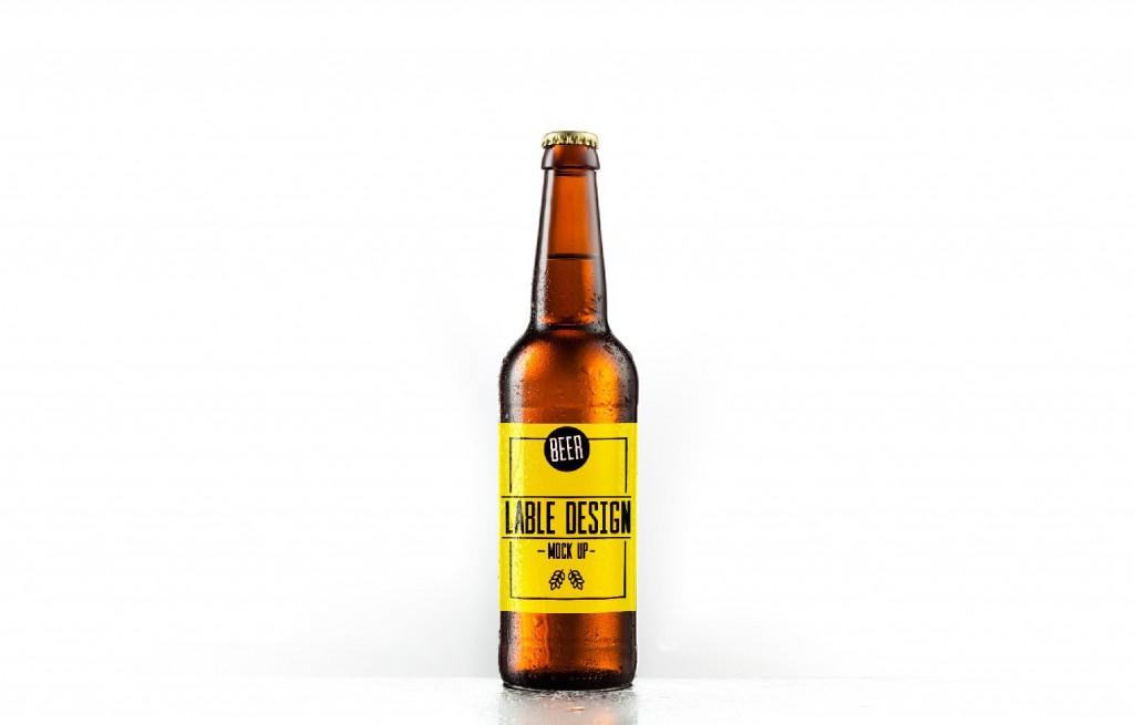 006 Frightening Beer Bottle Label Template Example  Free Dimension WordLarge