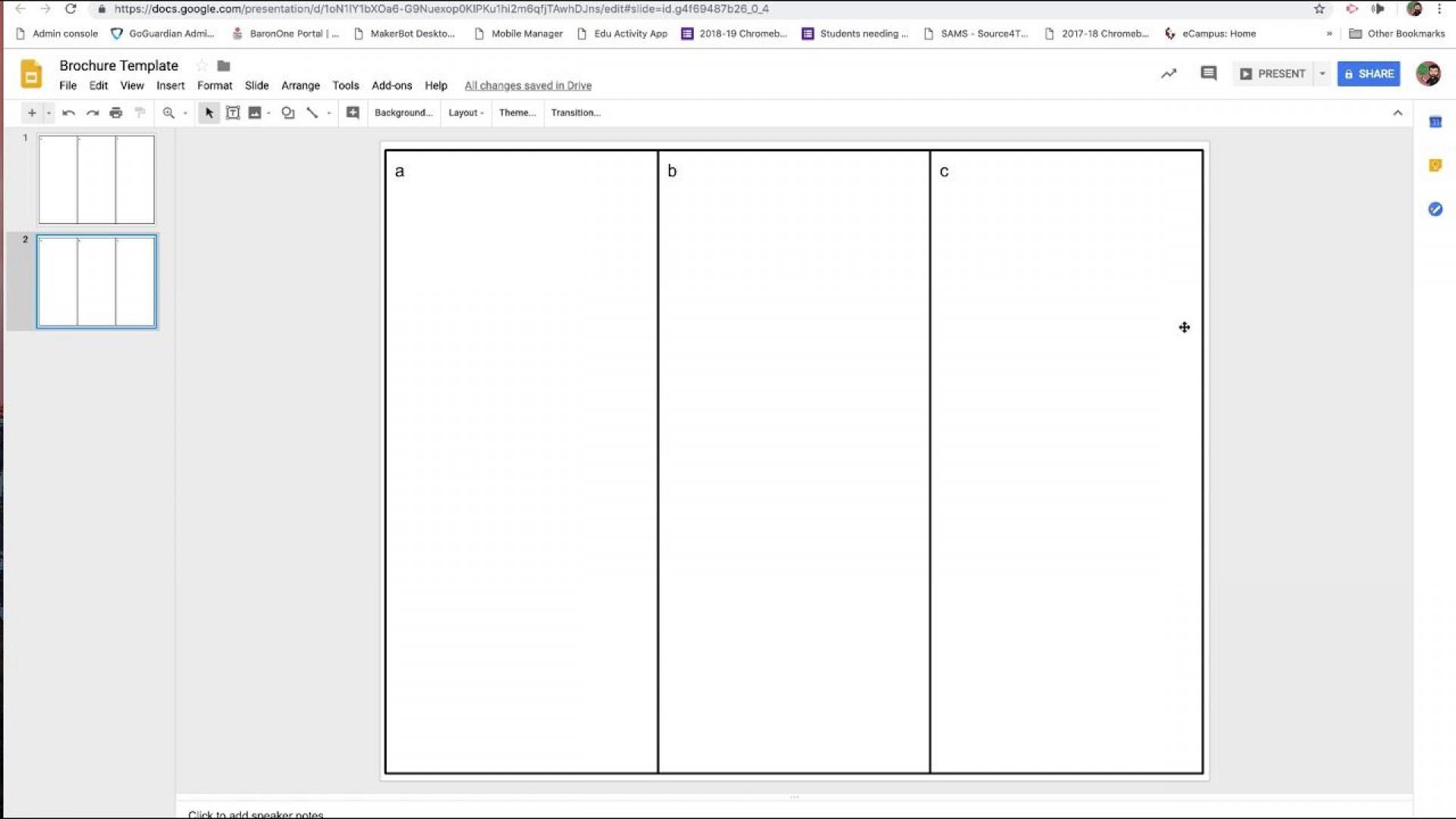 006 Frightening Brochure Template For Google Doc Design  Docs Download 3 Panel Free1920