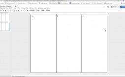 006 Frightening Brochure Template For Google Doc Design  Docs Download 3 Panel Free