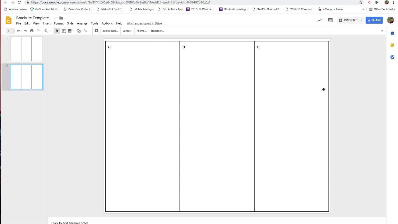 006 Frightening Brochure Template For Google Doc Design  Docs Download 3 Panel FreeFull