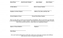 006 Frightening Client Info Form Template High Resolution  Free Photography Information Download