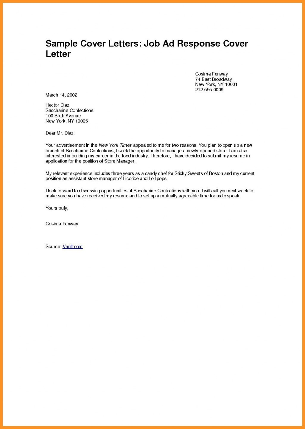 006 Frightening Cover Letter Writing Format Pdf Photo  ExampleLarge